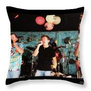 Bonerama At The Broadway Oyster Bar 2 Throw Pillow