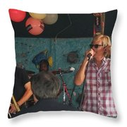 Bonerama In Rare Form Throw Pillow
