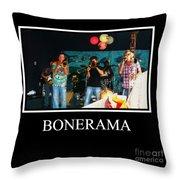Bonerama Throw Pillow
