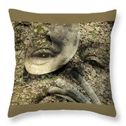 Boneye Throw Pillow