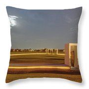 Bonfire Memorial Throw Pillow