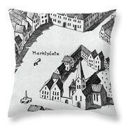 Bonn Saint Remigius Throw Pillow