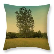 Bonner Springs Tree  Throw Pillow