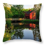 Bonneyville Mill Throw Pillow