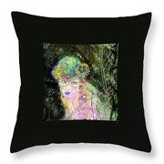 Bonnie Blue Throw Pillow