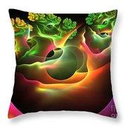 Bonsai Throw Pillow by Kim Sy Ok