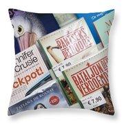 Book Fair In Steenwijk Netherlands Throw Pillow