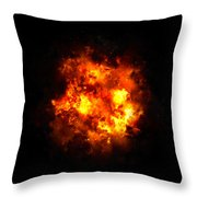 Boom... Throw Pillow