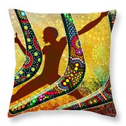 Boomerang 1 Throw Pillow