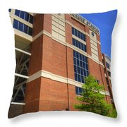 Boone Pickens Stadium Throw Pillow