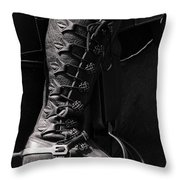 Medieval Faire Boot Detail Throw Pillow