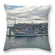 Boothbay Harbor 0231 Throw Pillow