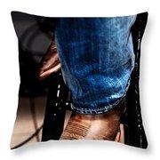 Boots 2 Throw Pillow