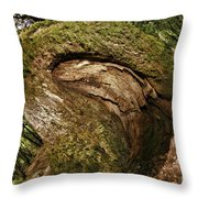 Booty Tree Throw Pillow