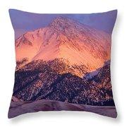 Borah Peak  Throw Pillow