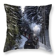 Borckenbahn Throw Pillow