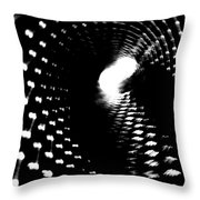 Bore Cylinder 2 Throw Pillow