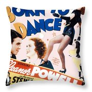 Born To Dance Throw Pillow
