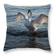 Born To Rule Throw Pillow