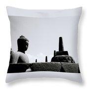 The Meditation Of The Buddha Throw Pillow
