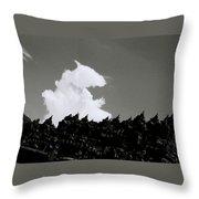 Borobudur Sky Cloud Throw Pillow