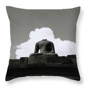 Borobudur Surreal Throw Pillow