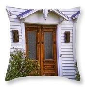 Borough Door Throw Pillow