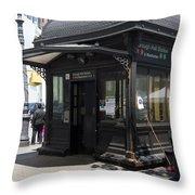 Borough Station Throw Pillow