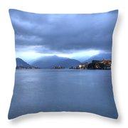 Borromean Islands Throw Pillow