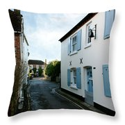 Bosham Hight Street West Sussex Throw Pillow