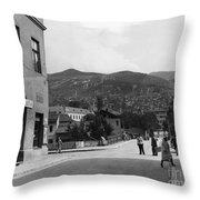 Bosnia - Sarajevo C1947 Throw Pillow