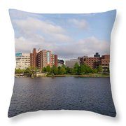 Boston - Zakim Bridge Throw Pillow