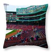 Boston 10 Throw Pillow