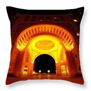 Boston - 50 Rowes Wharf Arch Throw Pillow