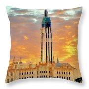 Boston Ave Methodist Church Tulsa Oklahoma Throw Pillow