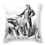 Boston: British Evacuation Throw Pillow