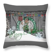 Boston Celtics Throw Pillow