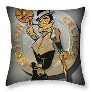 Boston Celtics Throw Pillow