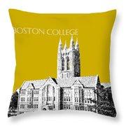 Boston College - Gold Throw Pillow