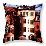 Boston Colors Two Throw Pillow