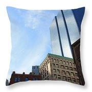 Boston Ma Architecture 2 Throw Pillow