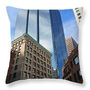 Boston Ma Architecture Throw Pillow