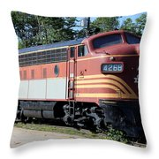 Boston - Maine No 4268 Throw Pillow