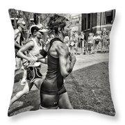 Boston Marathon 2012 Throw Pillow