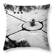 Boston Public Gardens Throw Pillow