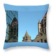 Boston Unity Reflected 2853 Throw Pillow