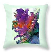 Botanica Fantastica I Throw Pillow