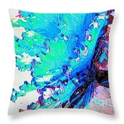 Botanica Fantastica II Throw Pillow