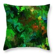 Botanical Fantasy 110413 Throw Pillow