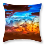 Both Sides Throw Pillow